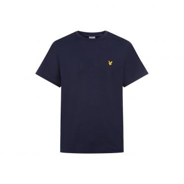 045b3d39b4e Lyle & Scott Fitness shirt heren navy marl | Fitness & sport basics ...