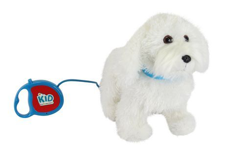 Kid Connection My Walking Pet Maltese Animated Toy Aa Kids