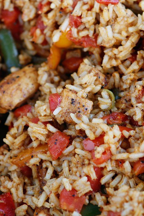 Easy Cajun Chicken and Rice Recipe images