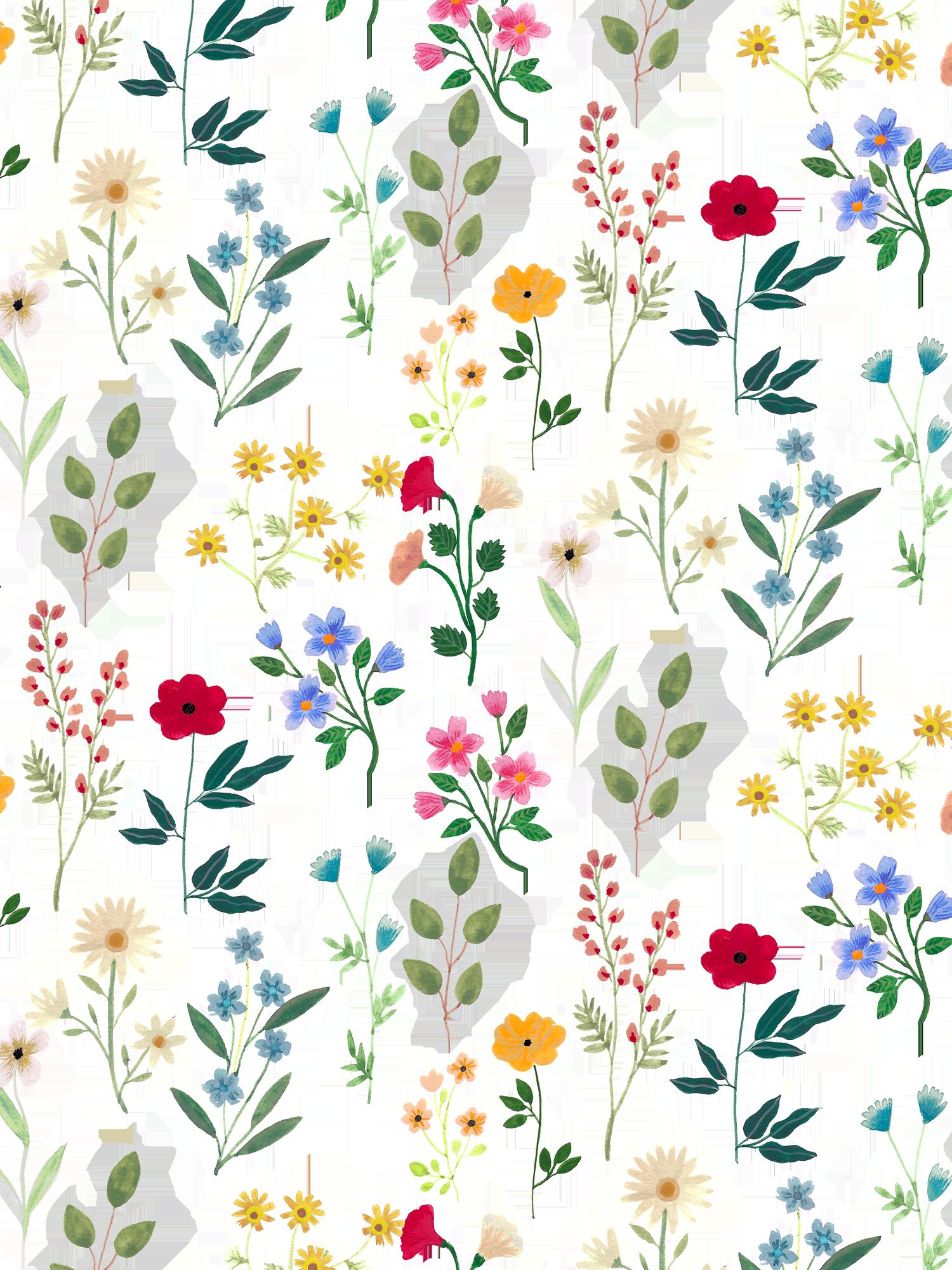 iPhone XS Case Spring Botanicals 2 by Iisa Mönttinen in