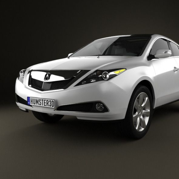 Acura, Sports Car, 3d Model