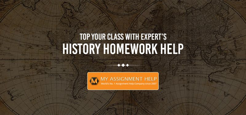 History homework help chat