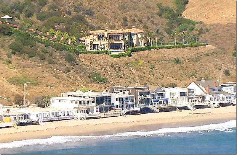 Cote De Texas Mar 9 2014 Malibu Homes Santa Barbara House Celebrity Houses