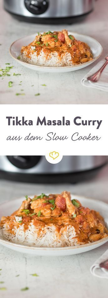 Photo of Tikka Masala Chicken Curry from the Slow Cooker