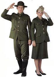 WWI Army Man Doughboy Costume Uniforms | Funny Girl | Army ...