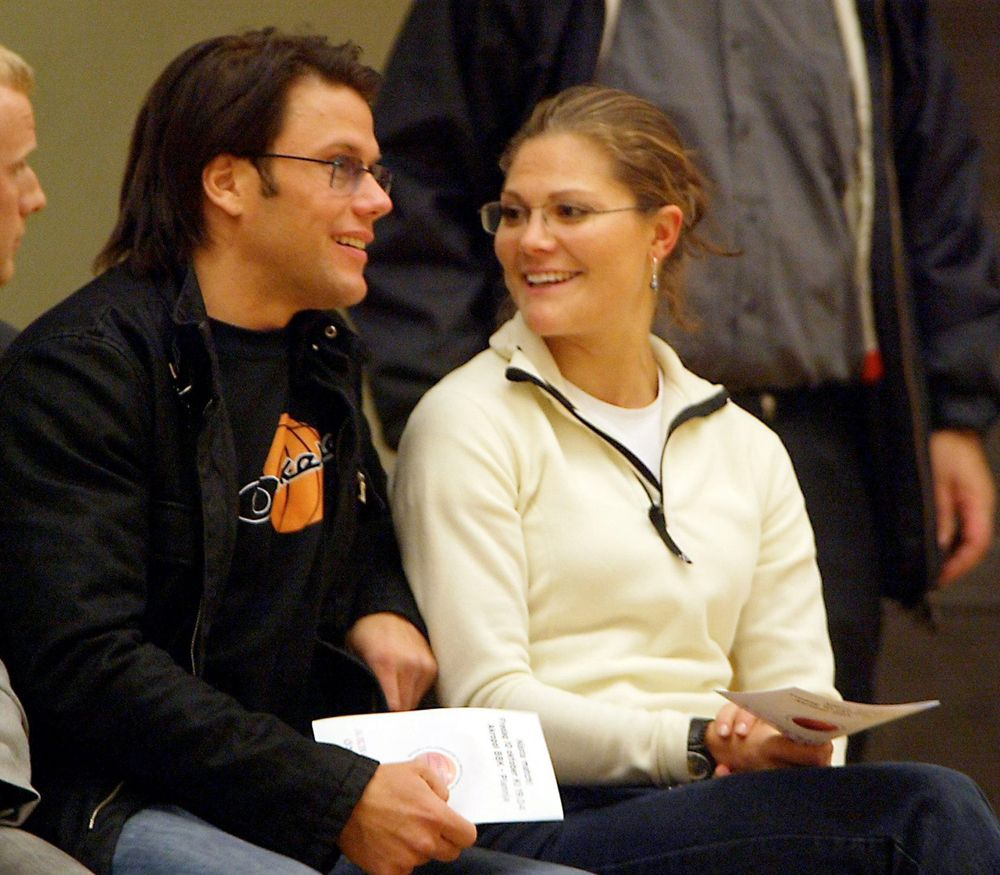 Crown Princess Victoria and her boyfriend Daniel Westling ...