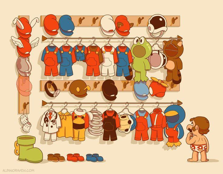 Mario's Closet: