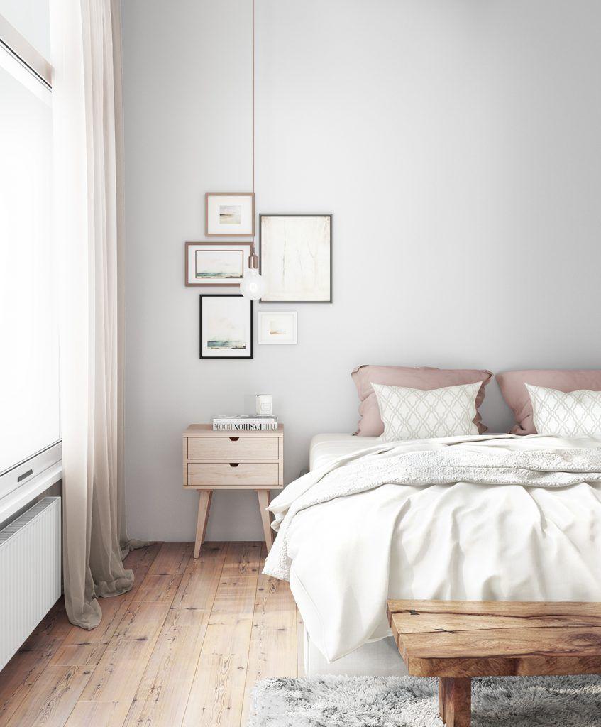 Skandinavische Schlafzimmer Ideen Wohnung einrichten