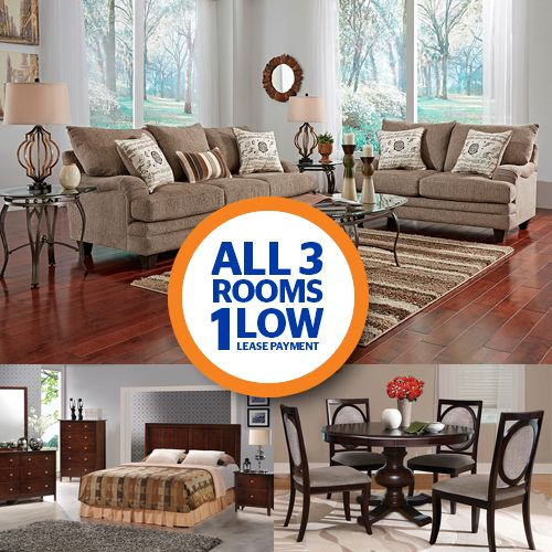 Shop the most selection and best prices for your new living room group from  Aaron s  Our rent to own living room furniture ranges from modern to. Aaron s 3 Room Package   olga Hernandez   Pinterest   Room