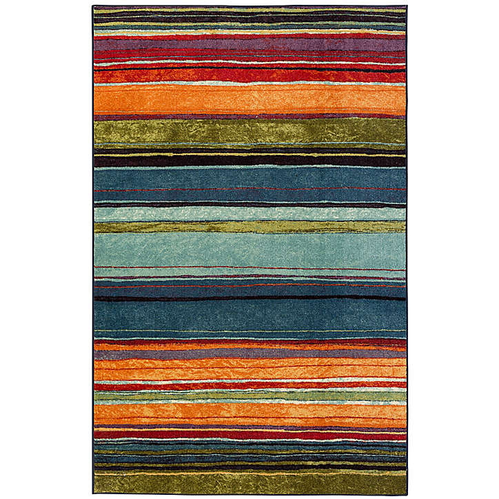 Multi 8x10 area rugs   Bed Bath & Beyond   Striped rug, Rainbow