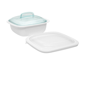 Corelle Bake Serve And Store 1 4l Square Baker With Glass