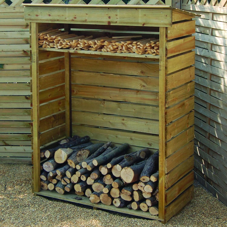 b and q log store - Google Search. Firewood StorageFirewood ShedFirewood ...