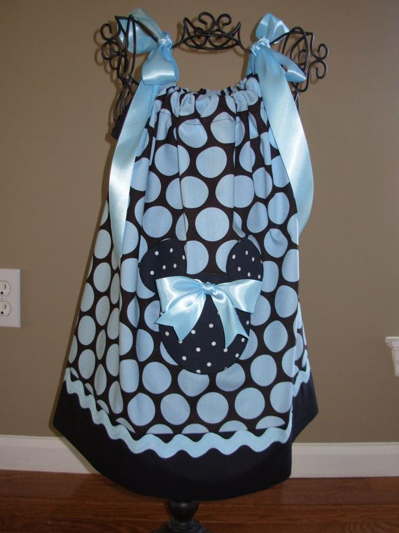 Hey, I found this really awesome Etsy listing at https://www.etsy.com/listing/90196853/minnie-mouse-pillowcase-dress-black-with