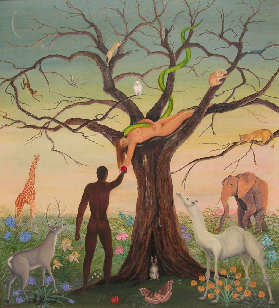 Adam And Eve Were The First Man And Women On This Earth They Are The Central Belief That Humanity In The Essence Of A Single Family Adam And Eve Painting Art