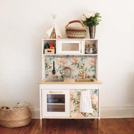 Duktig Ikea Schmetterling Aquarell Aufkleberset Pack 4 Baby