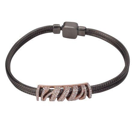 Rose Gold Zebra Print Wire Bracelet http://www.wallpapernation.com/ #wallpaper #home #homedecor #homedesign