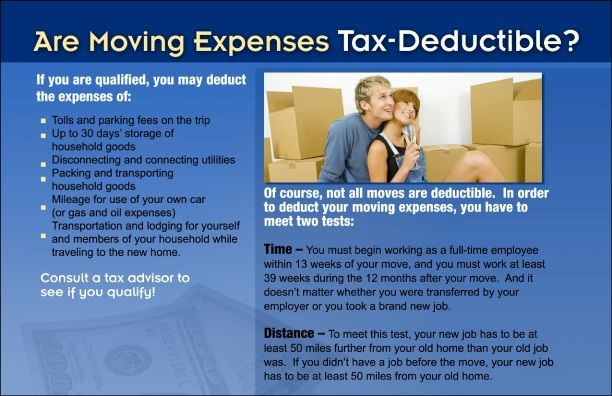 Selling A Home Laura Kelley Moving Expenses Tax Deductions Deduction