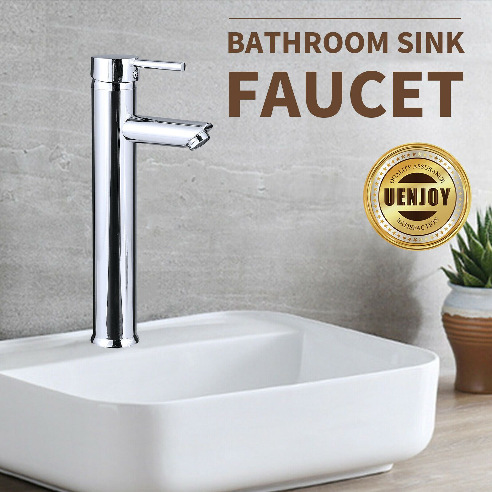 Modern Bathroom Basin Single Handle Faucet Waterfall Sink Mixer Tap Brass Home Kitchen Faucets Ideas Sink Mixer Taps Bathroom Basin Chrome Kitchen Faucet