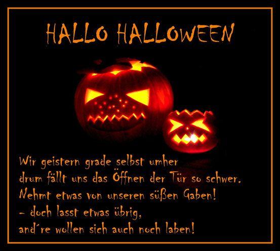 Halloween Spruch