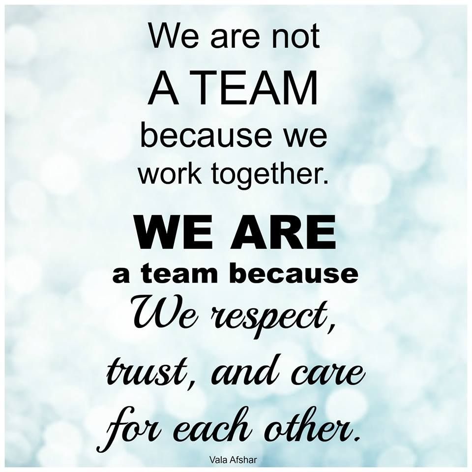 "Motivational Quotes For Sports Teams: There Is No I In ""Team""!!!"