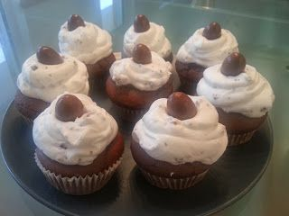 Rezept für Kinderschokoladen-Cupcakes