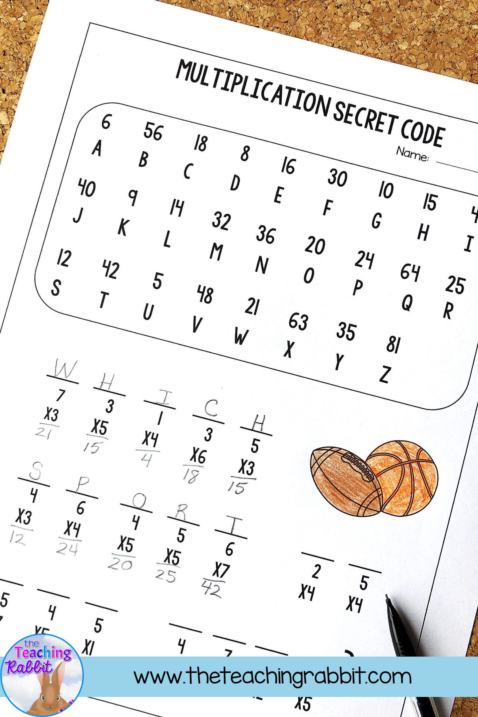 Multiplication Worksheets   Multiplication facts worksheets [ 2362 x 1575 Pixel ]