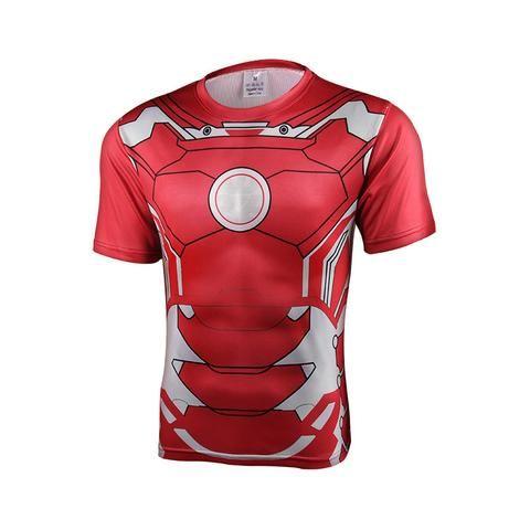 Captain America 3 Civil War Winter Soldier Costume 3D T-Shirt Summer Gent/'s Tops