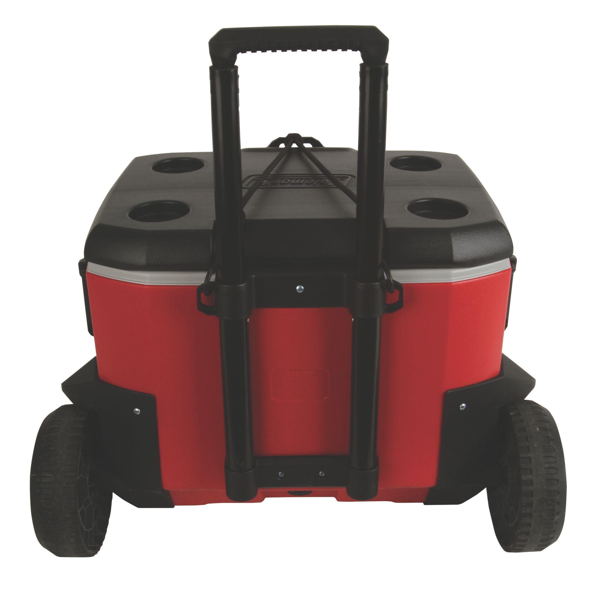 55 Quart Coleman Rugged A//T Wheeled Cooler