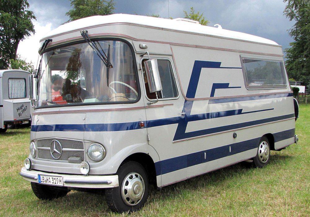 Mercedes L319 Wohnmobil Auwärter Bild & Foto von Elo WW