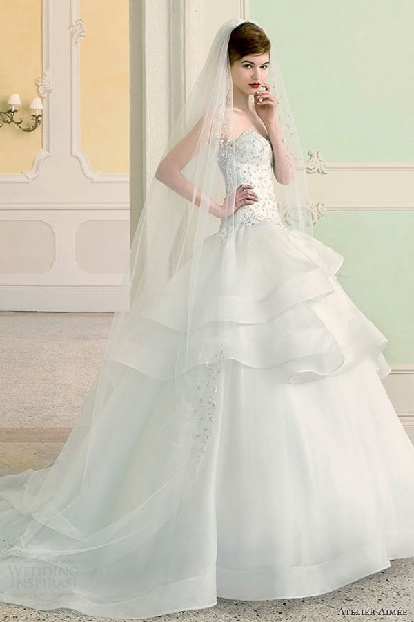 Enchanting Atelier Aimee Wedding Dresses 2014 Bridal Collection. To ...