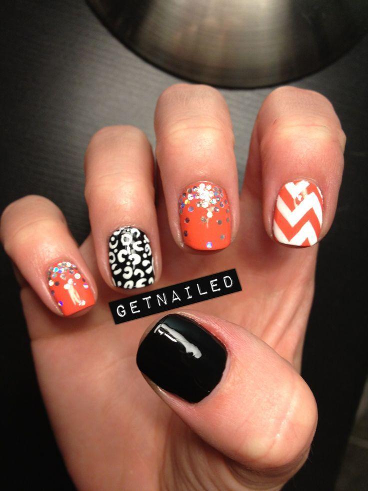 10 Festive Nail Designs For Halloween - It\'s A Fabulous Life | Uñas ...