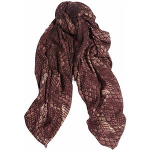 Marc by Marc Jacobs Dragon Scale printed wool scarf