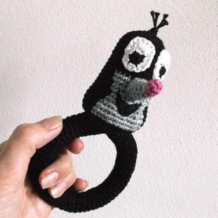 Krtek | Hrajeme si háčkováním hraček | Only my own creation! | Pinterest