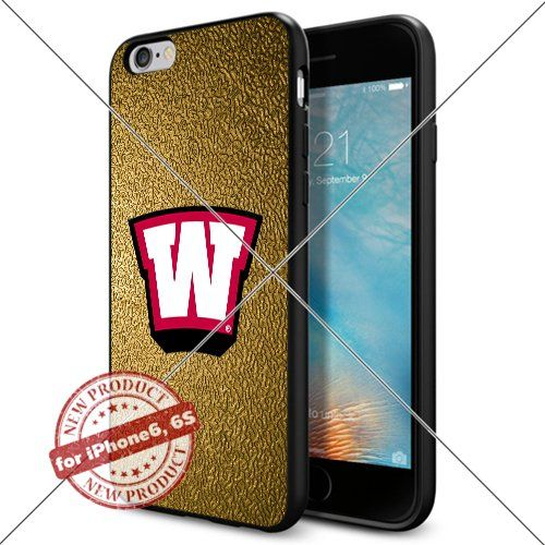 WADE CASE Western Kentucky Hilltoppers Logo NCAA Cool Apple iPhone6 6S Case #1704 Black Smartphone Case Cover Collector TPU Rubber [Gold] WADE CASE http://www.amazon.com/dp/B017J7HE9G/ref=cm_sw_r_pi_dp_DHIqwb14CDHM3
