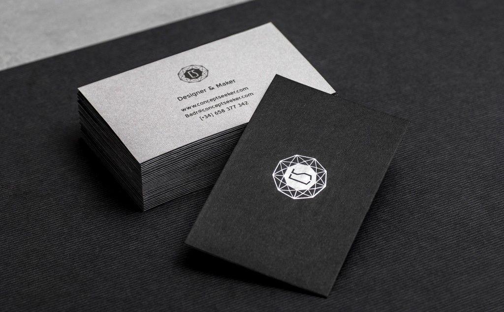 business card design inspiration card nerd minimal business