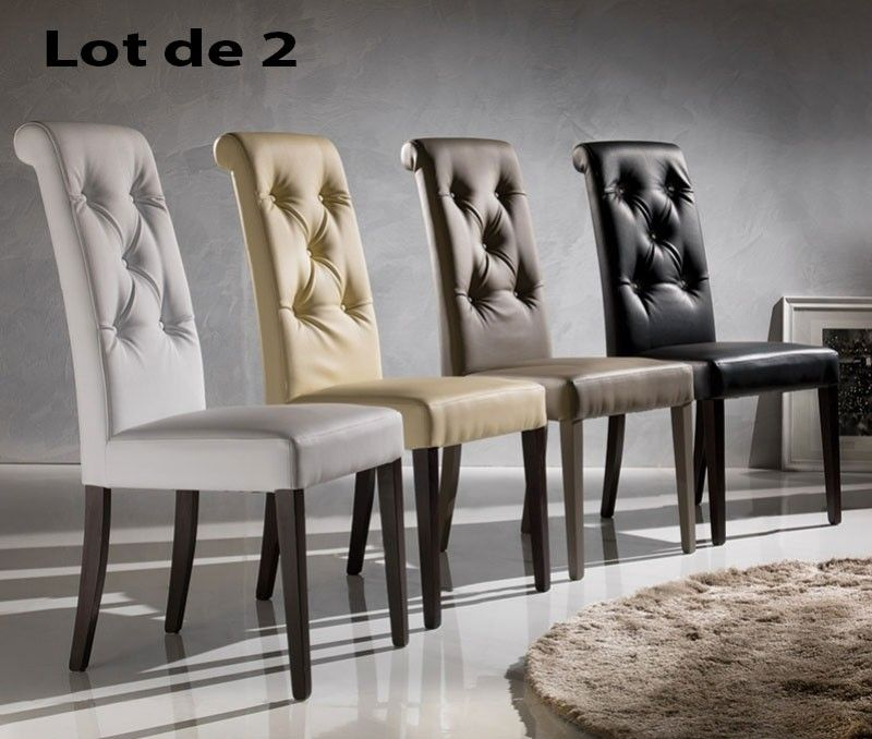 Chaise Capitonnee Salle Manger Chaises Salle Manger Capitonnees Cuisine Deco Furniture Dining Chairs