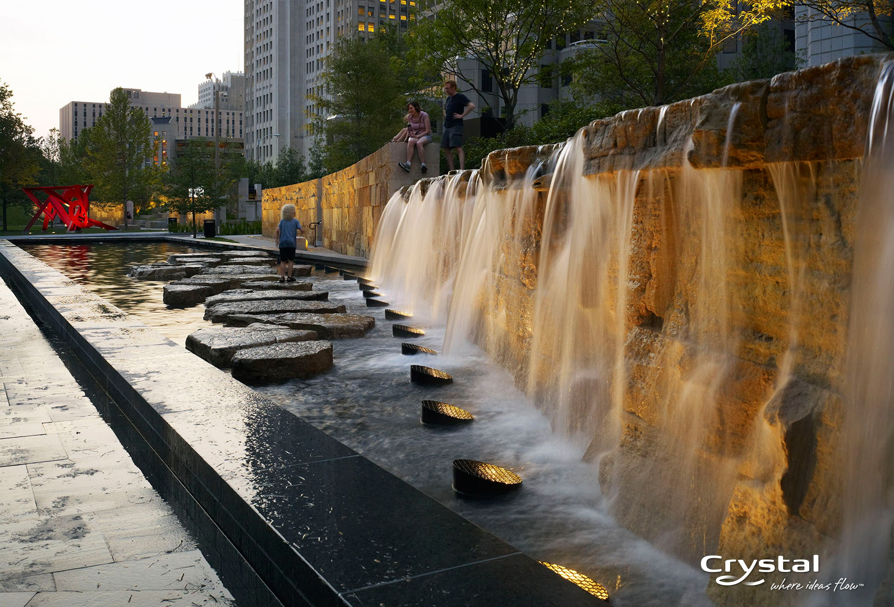 Citygarden St Louis Mo Photo By Hydro Dramatics Water