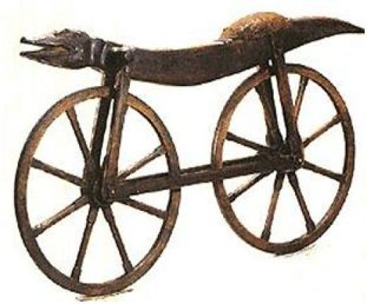 "the history of a bicycle as a vehicle invented by comte mede de sivrac of france Invented in 1790 by frenchmen, comte mede de sivrac, it was the first machine of its kind in which ""its passenger is its engine"" like the cars driven by the cartoon characters in the ' the flintstones' – the celerifere was foot propelled."