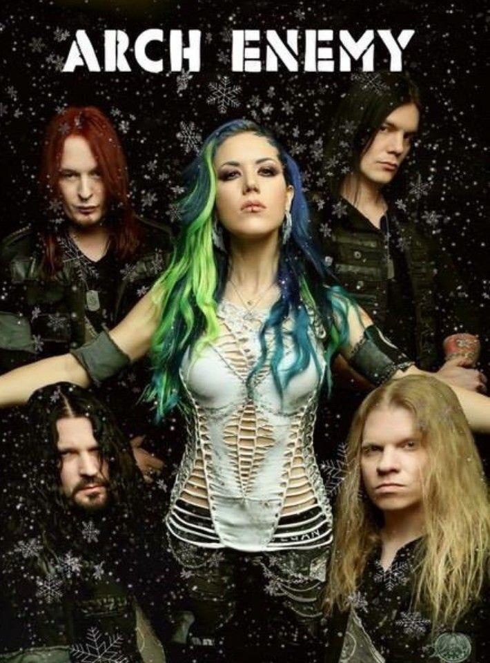 Arch Enemy Heavy Metal Girl Heavy Metal Music Alissa White