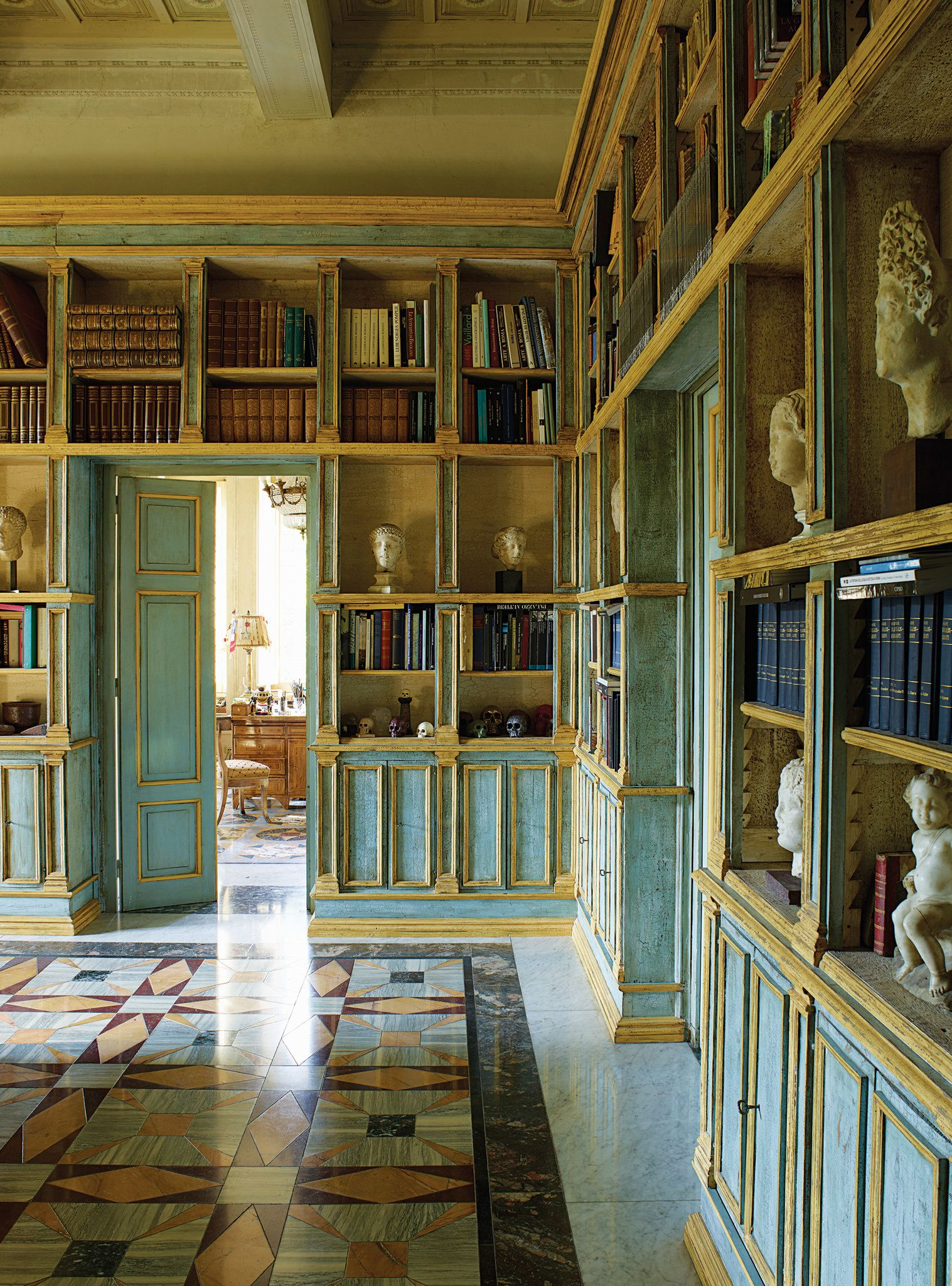Private Library Study Rooms: For Santarelli, One Of The Foremost Private Collectors In