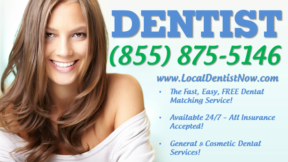 Emergency Dentist - Find a local Dentist! Available 24/7 - All Insurance Accepted