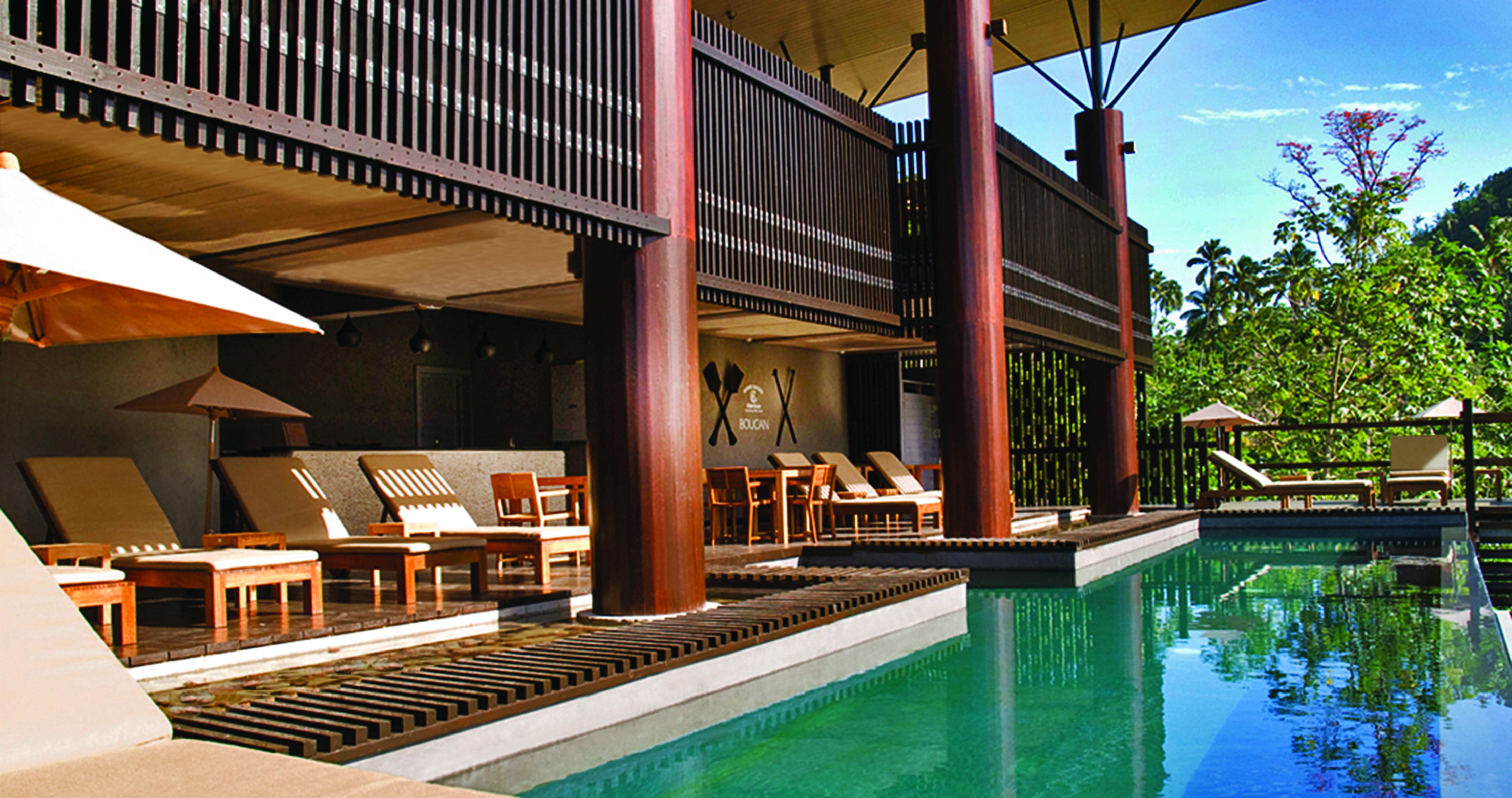 Our unique hotel restaurant set amongst the rainforest