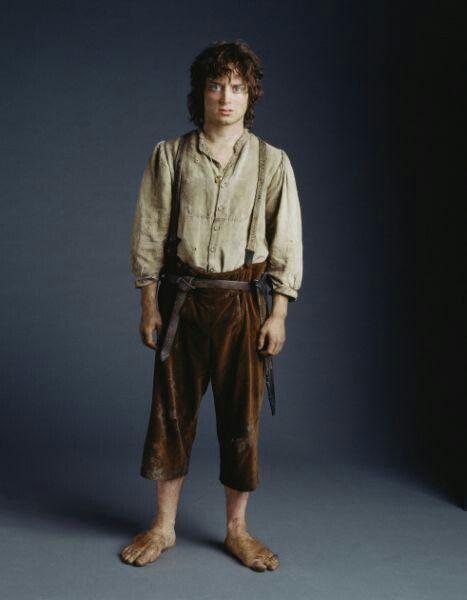 frodo baggins return of the king costume study chosen bilbo and