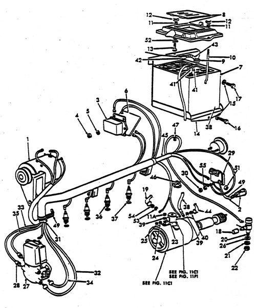antique tractor wiring diagram