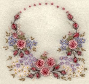 I Embroidery    Wool Embroidery Example A Pictorial Of