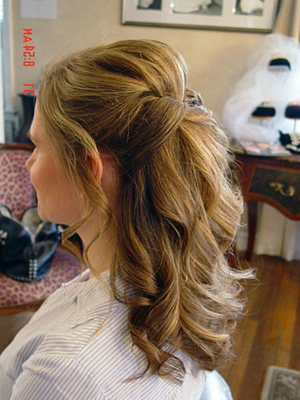 half up half down wedding hair updo | hairstyle | pinterest