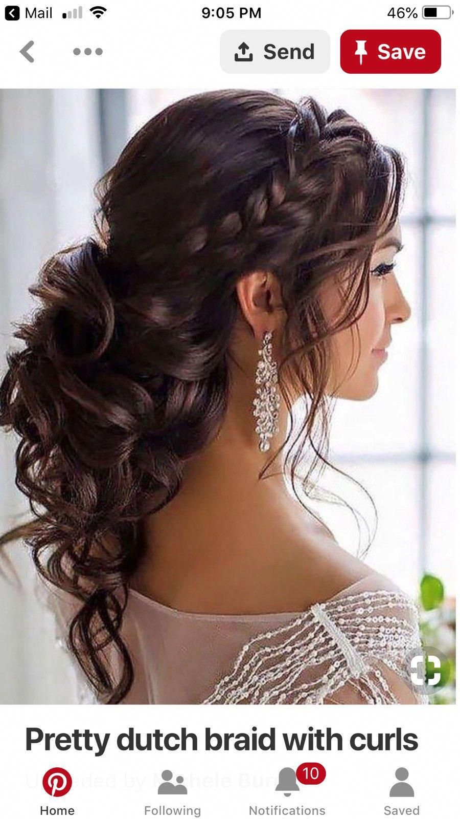 Promhairstyleshalfuphalfdown Prom Hairstyles For Long Hair Homecoming Quince Quinceanera