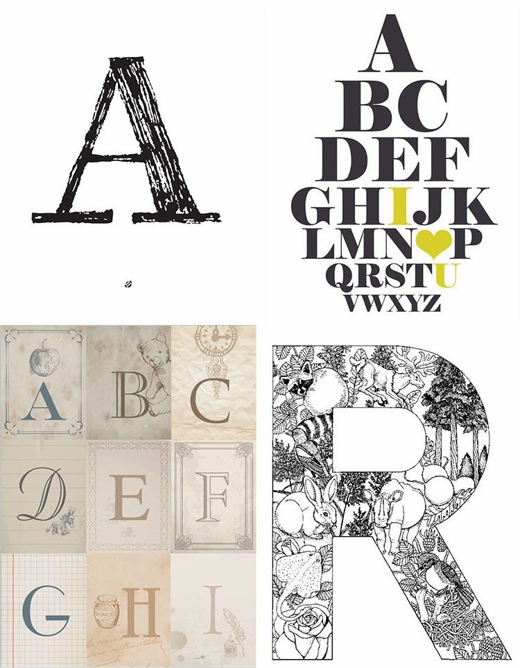This is a photo of Handy Free Printable Large Letters for Walls