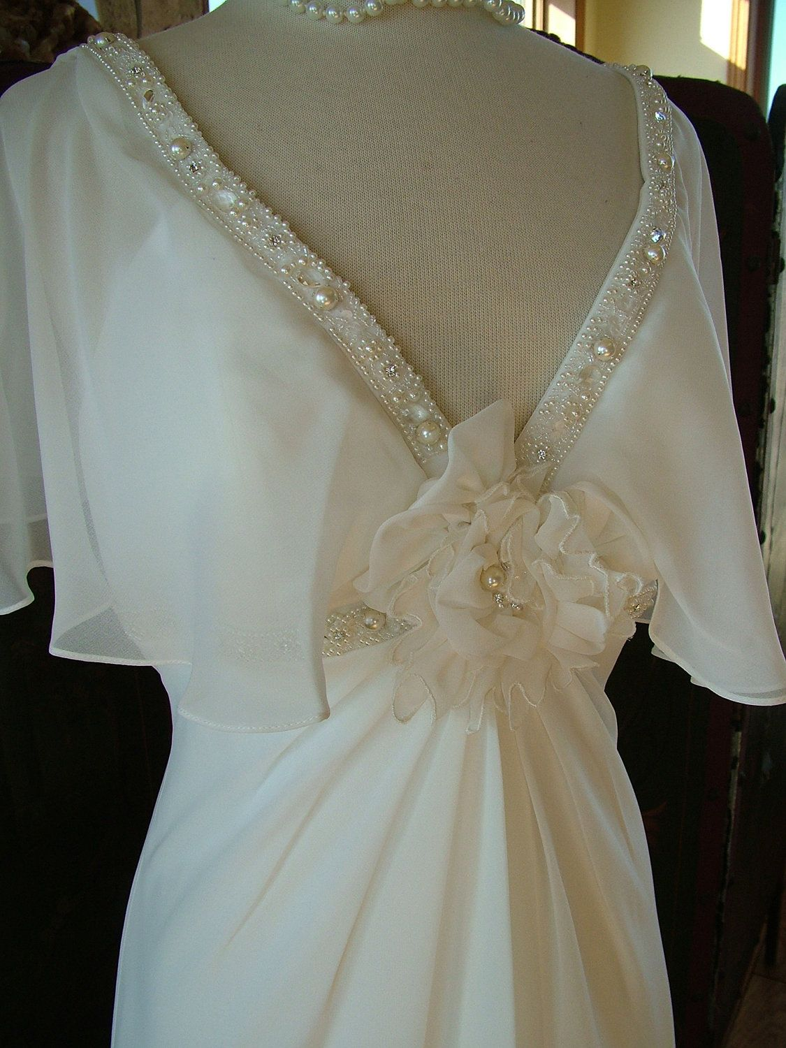 Plus size wedding dresses with flutter sleeves google search