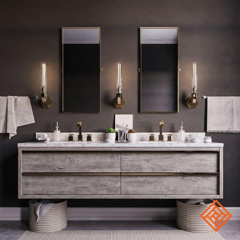 Best Bathroom Remodeling Contractors   Floating vanity ...